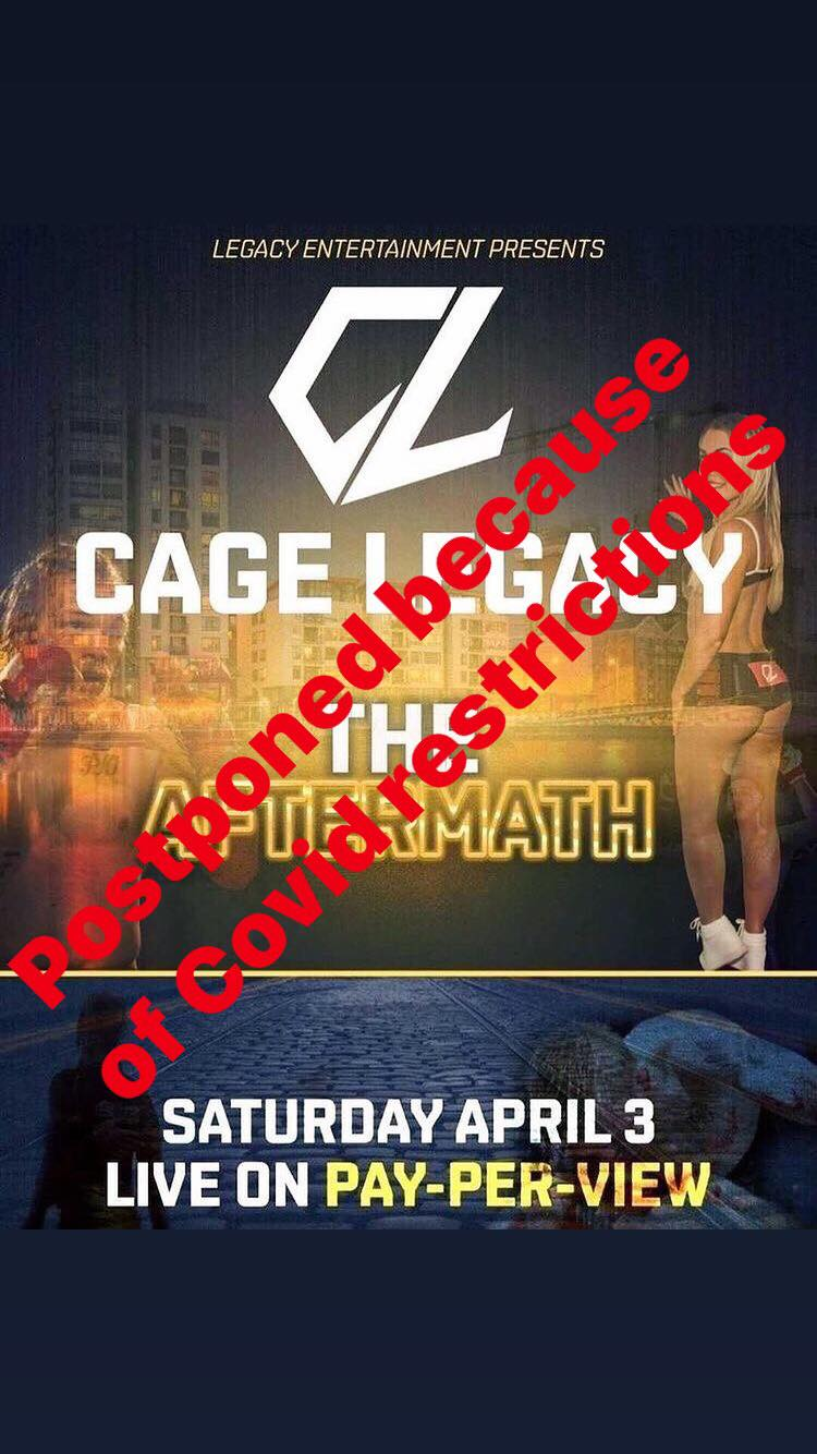 Cage Legacy 'The Aftermath' - Live Stream