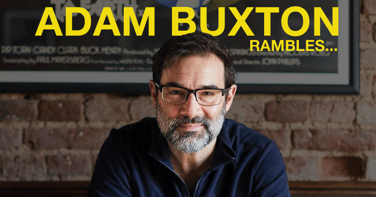 Adam Buxton Rambles... at Elmwood Hall, Belfast